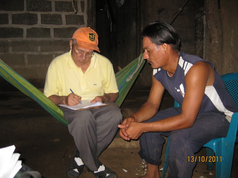 Producenten overleggen over het klimaatbos Leon